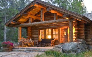 Строим деревянный дом из бревен