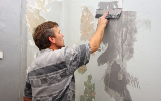 Косметический ремонт – подготовка стен