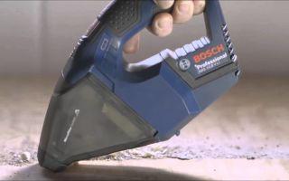 Аккумуляторный пылесос Bosch PAS 18 LI