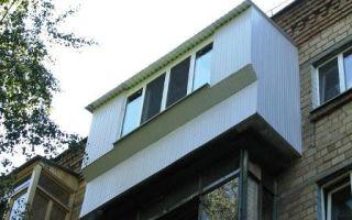 Особенности балконов с выносами