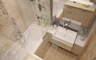 Советы по ремонту ванной комнаты в хрущевке