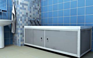 Экран под ванну: пластик или МДФ?