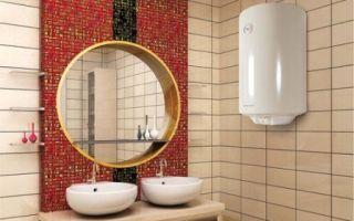 Как выбрать и установить водонагреватель в ванной