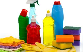 Где используются профессиональные моющие средства