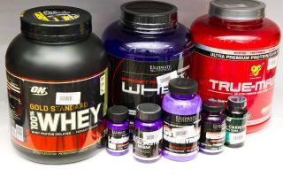 Жизнь спортсмена с протеином