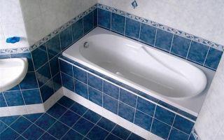 Как сделать экран для ванной из плитки самостоятельно