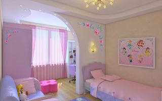 Ремонт и отделка в детской комнате
