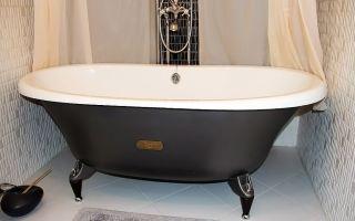 Инструкция по установке стальной ванны