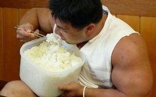 Правила правильного культуристического питания