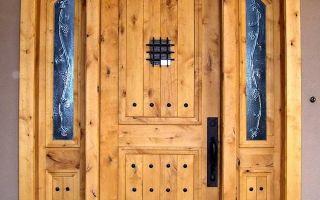 Какими бывают входные двери?
