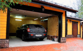 Как построить гараж собственными руками