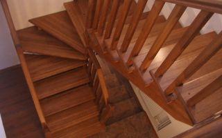 Древесина – идеальный материал для создания лестниц