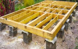 Столбчатый фундамент для бани – пошаговая инструкция
