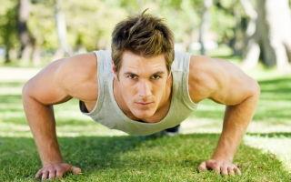 Отжимания — популярное физическое упражнение
