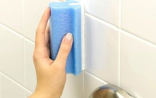 Народные методы очистки швов в ванной