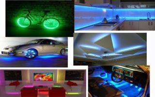 Особенности и сфера применения светодиодных лент