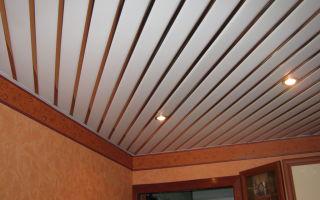 Виды и способы монтажа реечных потолков для ванной