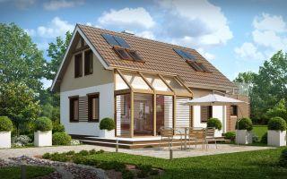 Каркасный дом – доступность и функциональность