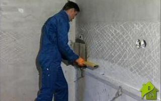 Подготовка стен к облицовке: устранение неровностей
