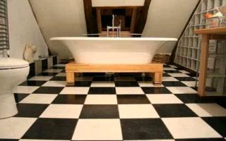 Высота ванны от пола: стандарт