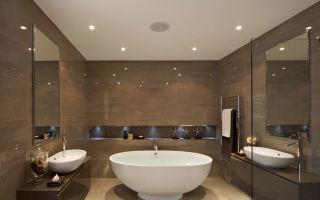 Натяжной потолок в ванной: инструкция по монтажу и эксплуатации