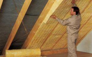 Материалы для утепления крыши дома своими руками