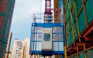 Консольные подъёмники для промышленных объектов