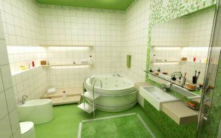 Оптимальное использование пространства ванной комнаты
