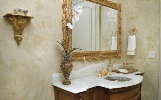 Штукатурка для ванной комнаты какая смесь подойдет для влажного помещения