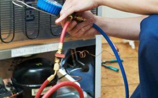 Ремонтные работы, направленные на исправление неполадок холодильных агрегатов Индезит