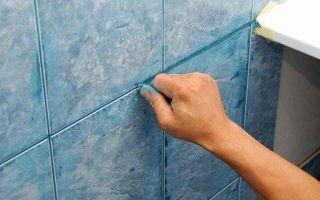 Затирка для швов плитки в ванной, затираем качественно