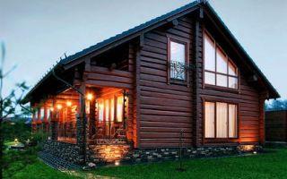 Деревянные дома из лафета