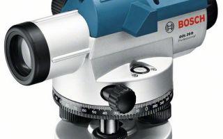 Оптический нивелир – простота и точность замеров высот