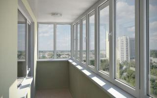 Теплое остекленение балконов под ключ