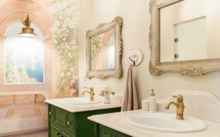 Ванная комната в стиле «прованс»