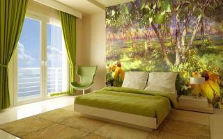 Декорирование комнаты с помощью фотообоев
