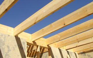 Как рассчитать деревянные балки перекрытия?