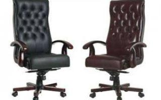Критерии выбора кресла для руководителя