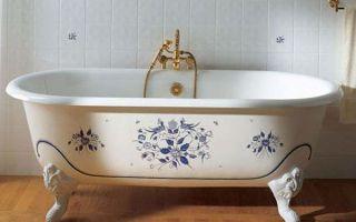 Советы по установке чугунной ванны