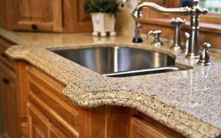 Особенности кухонных столешниц из натурального камня
