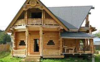 Дом из сруба: красота и комфорт