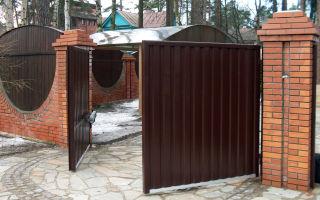 Что выбрать: откатные или распашные ворота?