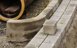 Методика производства бордюрного камня