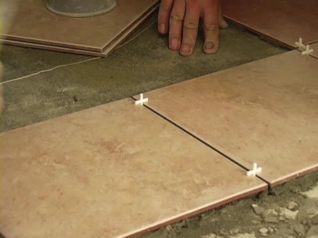 Расстояние между плитками