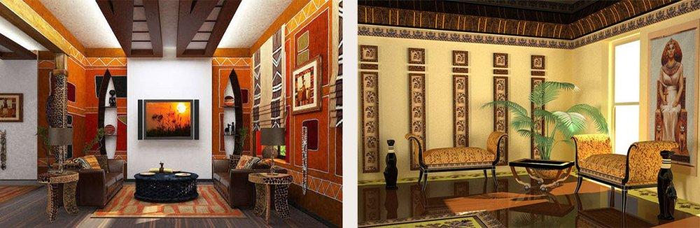 Арт-деко египетские тематики