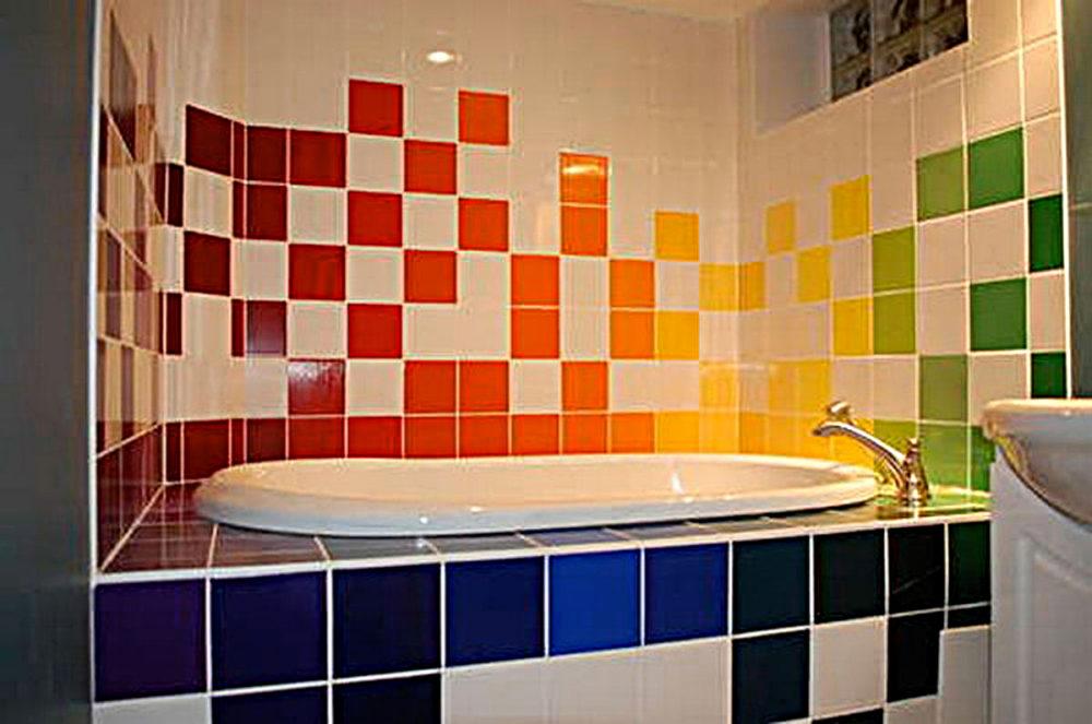 обновляем плитку в ванной