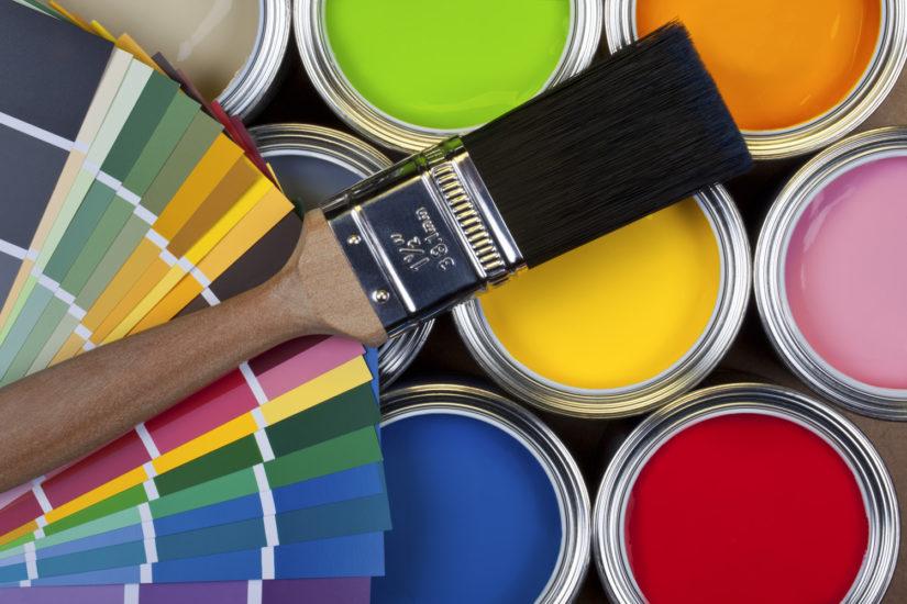 Водоэмульсионные виды красок