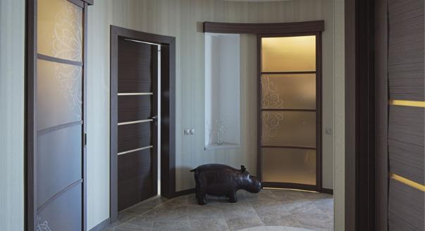 радиусная дверь