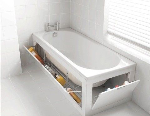 ванна с ящиками