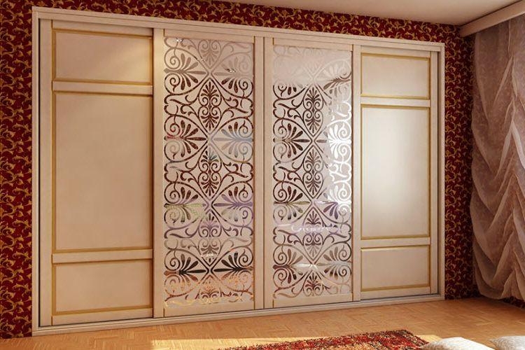 Комбинированные двери для шкафа-купе